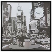 Ii-Quadro-73-Cm-X-73-Cm-Preto-branco-Nova-York