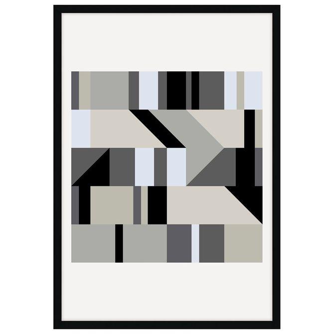 Level-Iii-Quadro-35-Cm-X-50-Cm-Multicor-preto-Galeria-Site