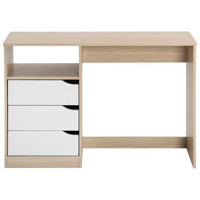 Modulo-Escrivaninha-3gv-110x40-Natural-Washed-branco-Wink