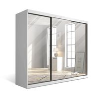 Guarda-roupa--Branco-3-Portas-De-Espelho-Branco-Dreamer