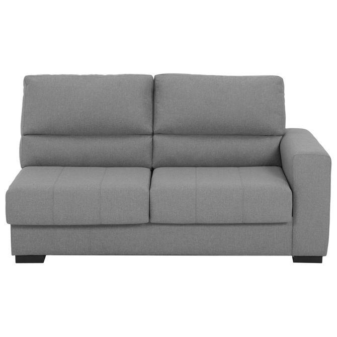Modulo-Sofa-2-Lugares-Esquerdo-Com-Cama-Plain-High--Cinza-Larson