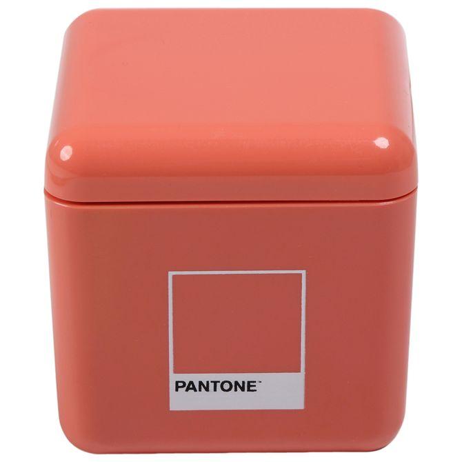Porta-algodao-hastes-Flexiveis-Flamingo-Pantone