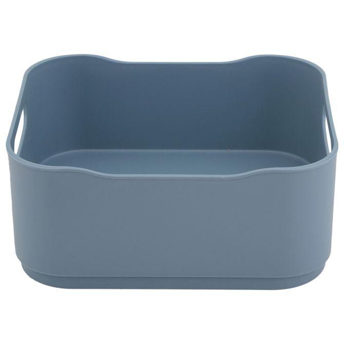 Organizador-De-Bancada-18-Cm-Azul-Petroleo-Pantone