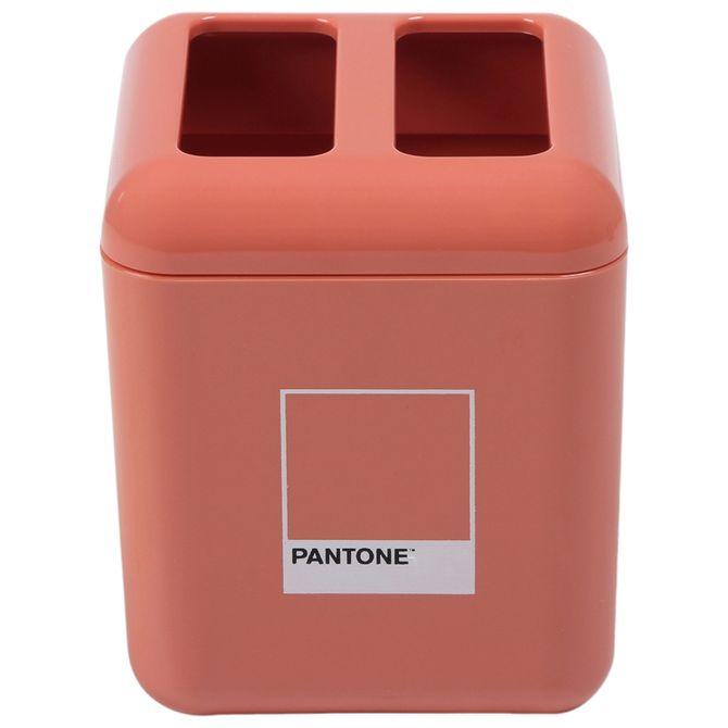 Porta-escova-pasta-Flamingo-Pantone