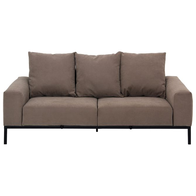 Sofa-Retratil-3-Lugares-Marrom-preto-Perfil