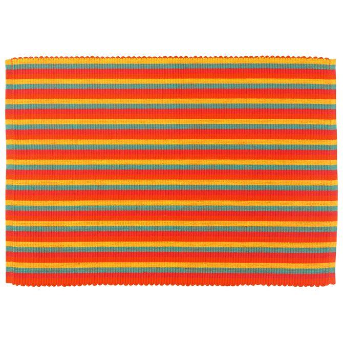Lugar-Amer-Tc-33-Cm-X-48-Cm-Cores-Caleidocolor-Rib-Stripe