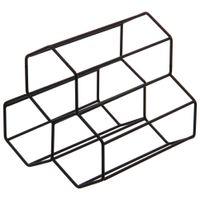 Hex-Porta-garrafas-P-3-Preto-Structure