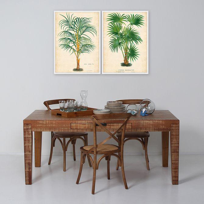 Palm-Of-The-Trop-I-Quadro-56-Cm-X-76-Cm-Multicor-branco-Galeria-Site