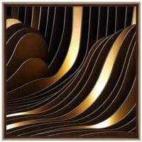 Gold-Viii-Quadro-60-Cm-X-60-Cm-Multicor-cobre-Galeria-Site