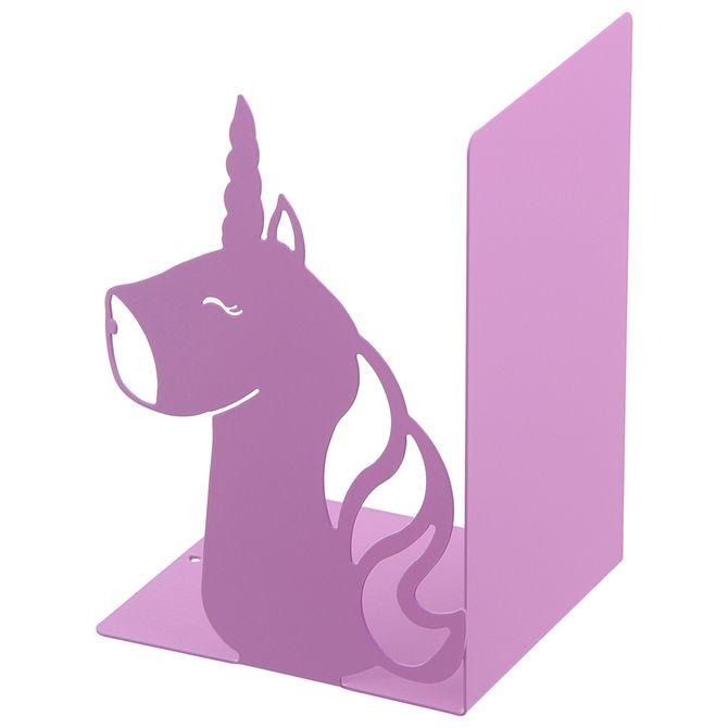 Aparador-De-Livros-Unicornio-Hibisco-Symbol