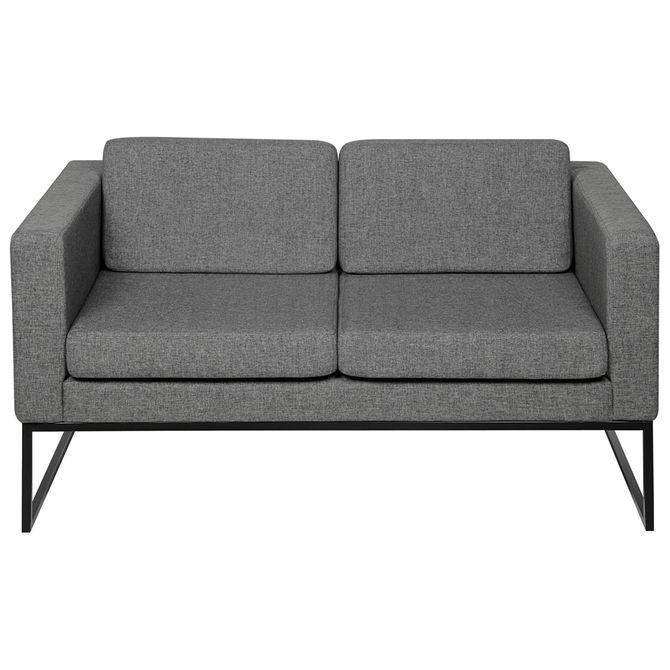 Sofa-2-Lugares-Cinza-preto-Detroit