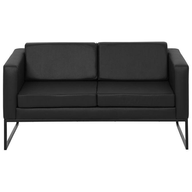 Sofa-2-Lugares-Preto-preto-Detroit
