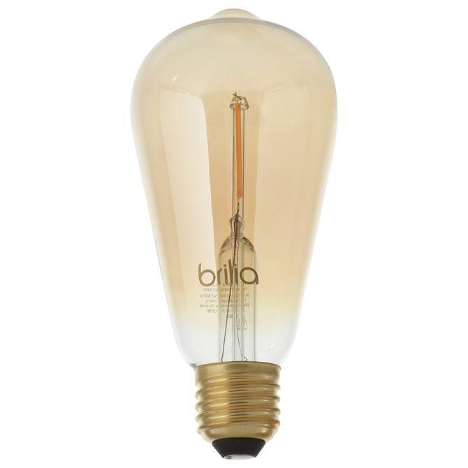 Lampada-Led-Filamento-St64-25w-127-220v-E27-Luz-Am-Incolor-Brilia