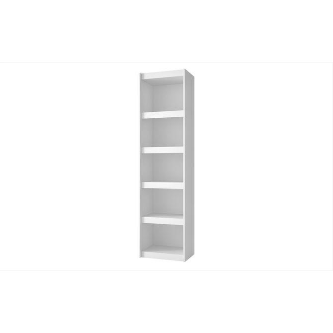 Estante-Para-Livros-Frame-Baixa-475-Cm-X-33-Cm-Branco-Escritorio