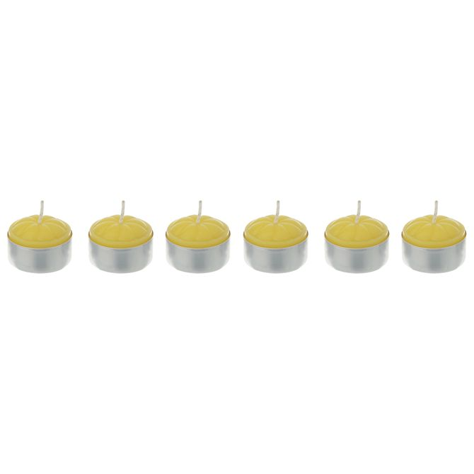 Vela-Rechaud-Perf-Citronela-C-6-Amarelo-aluminio-Sossego