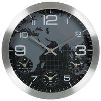 Relogio-Parede-35-Cm-Aluminio-preto-Time-Zone