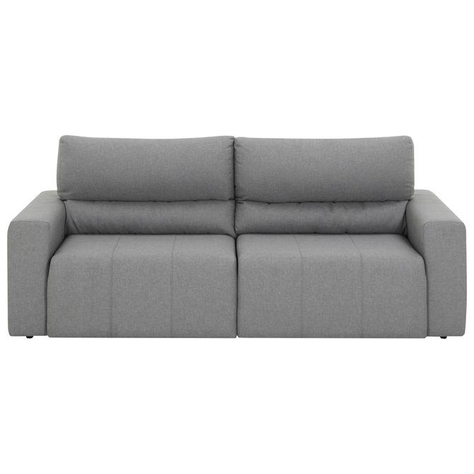 Sofa-Retratil-3-Lugares-Plain-High--Cinza-Larson