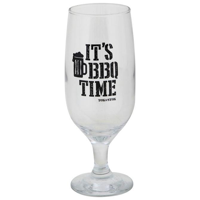 Taca-Cerveja-Lager-300-Ml-Incolor-preto-It-s-Bbq-Time