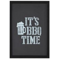 It-s-Bbq-Tiime-Quadro-porta-tampas-22-Cm-X-32-Cm-Preto-branco-It-s-Bbq-Time