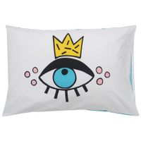 Eyes-Fronha-50x70-Branco-azul-Follow-Your-Dreams