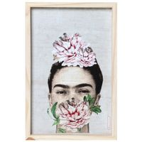 Frida-Florescer-Quadro-30-Cm-X-45-Cm-Natural-multicor-Mercatto