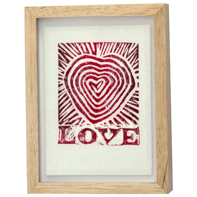 Print-Love-Quadro-19-Cm-X-25-Cm-Natural-multicor-Eme