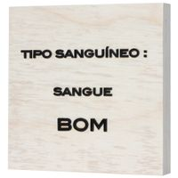 Sangue-Bom-Placa-Decorat-20-Cm-X-20-Cm-Natural-preto-Mercatto