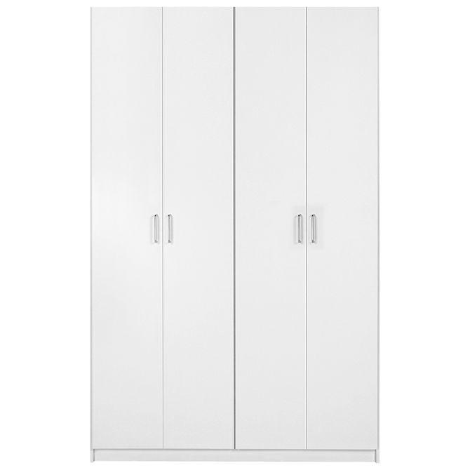 Guarda-roupa-4-Portas-Branco-Ruler