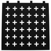Memory-board-40-Cm-X-40-Cm-Preto-branco-Cross-Side