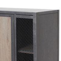 Armario-Alto-1-Porta-Grafite-carvalho-Smoked-Oficina