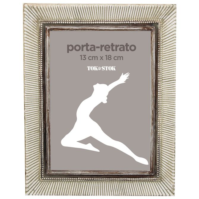 Porta-retrato-13-Cm-X-18-Cm-Branco-Provence-Le-Sable