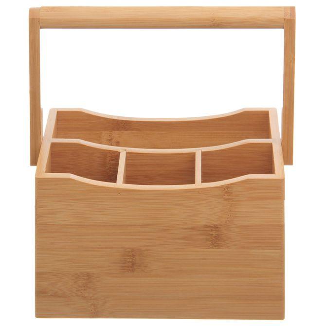 Porta-talheres-Mesa-Natural-Bamboo