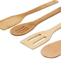 Kit-Utensilios-4-Pcs-Natural-Bamboo