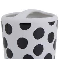 Poas-Porta-escova-pasta-Branco-preto-Compose