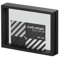 Porta-retrato-10-Cm-X-15-Cm-Preto-incolor-Paraleh