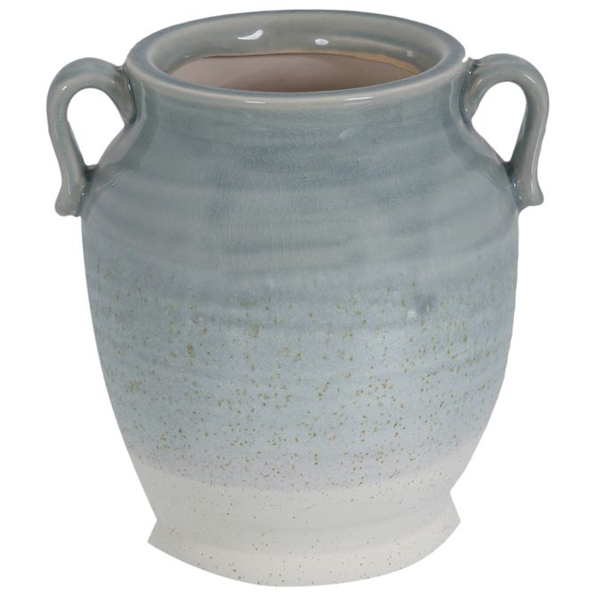 Vaso-Decorativo-20-Cm-Azul-Claro-Saint-tropez