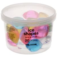 Ice-shapes cubo gelo artificial c/20