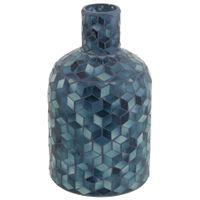 Vaso-25-Cm-Azul-Escuro-multicor-Vitree
