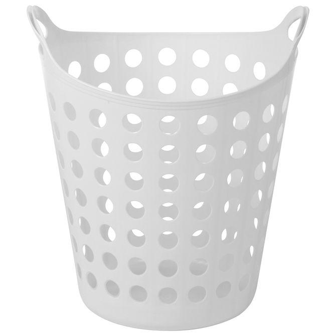 Cesto-Flexivel-Para-Roupa-Branco-Shape