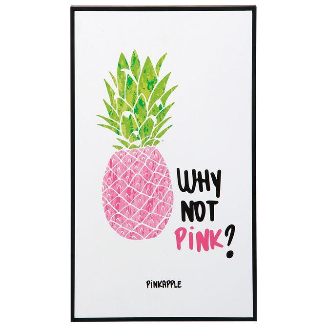 Pink--Quadro-23-Cm-X-38-Cm-Preto-multicor-Why-Not