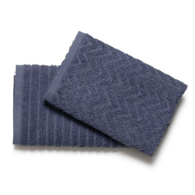 Pano-De-Copa-Kit-2-Pecas-40-Cm-X-60-Cm-Artex-Azul-Petroleo-Multimix