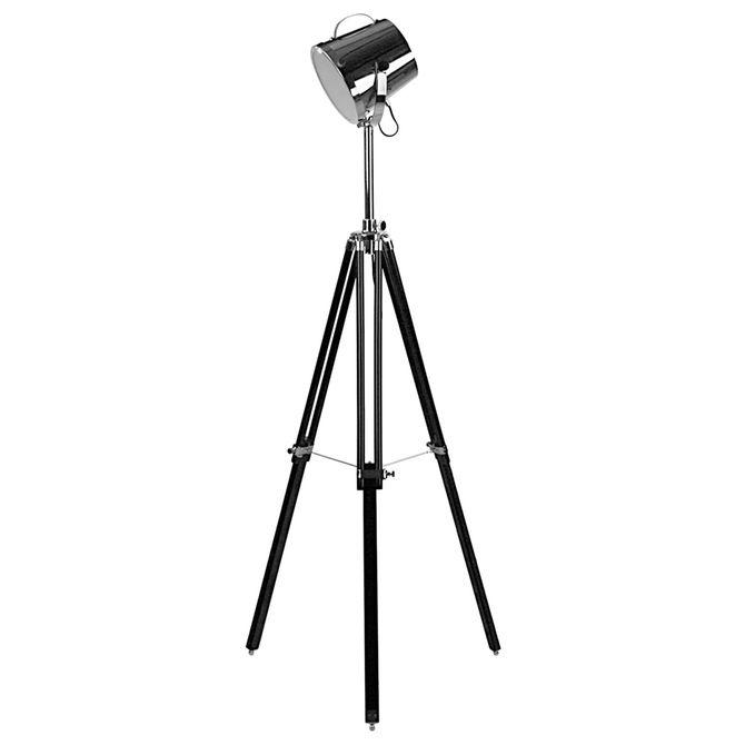 Luminaria-Piso-Preto-cromado-Holofot