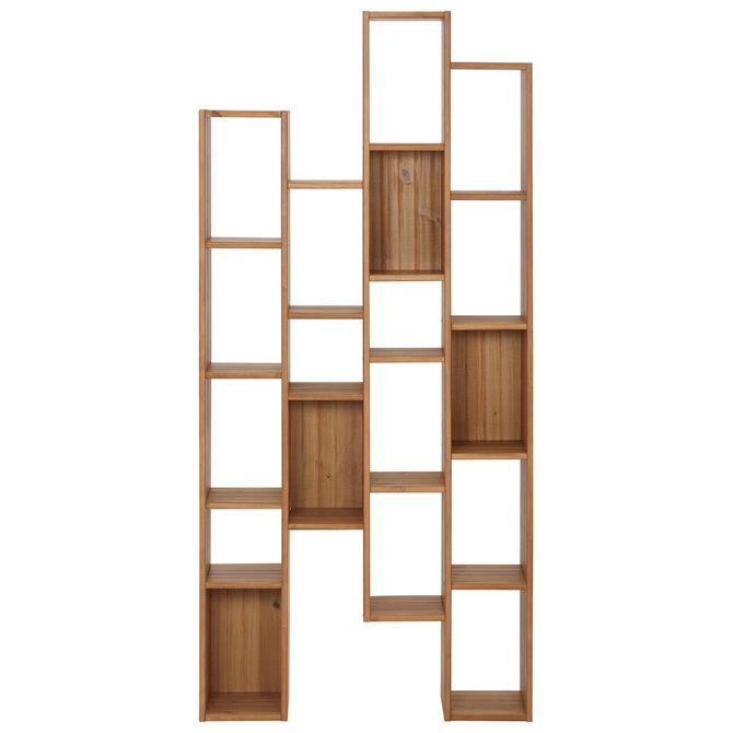 Wood-Estante-87x187-Amendoa-Ginga