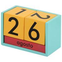 Calendario-Mesa-Multicor-menta-Fluke