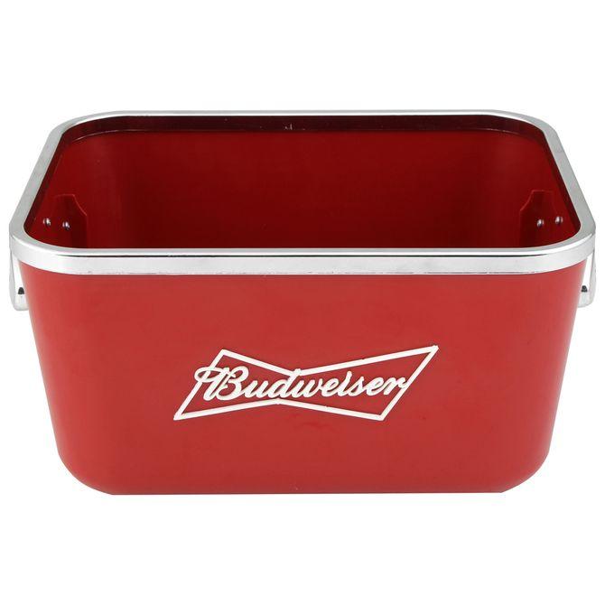 Balde-Para-Garrafa-Vermelho-branco-Budweiser