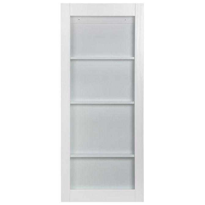 Cristaleira-Para-Parede-56x135-Branco-incolor-Wallbar