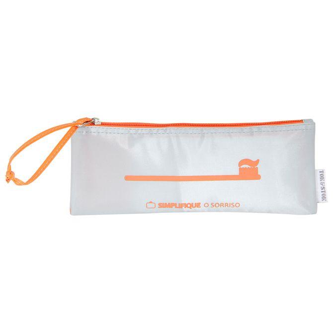 O-Sorriso-Necessaire-Cinza-laranja-Simplifique