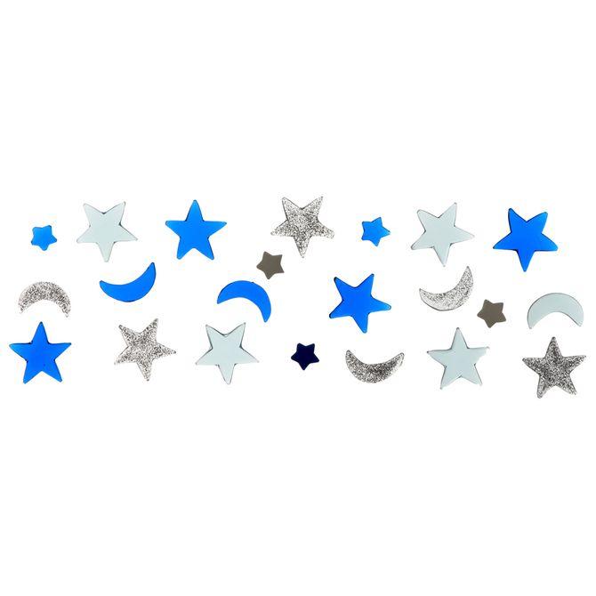 Brilha-Brilha--Decorador-Espelho-Azul-prata-Brilhabrilha-