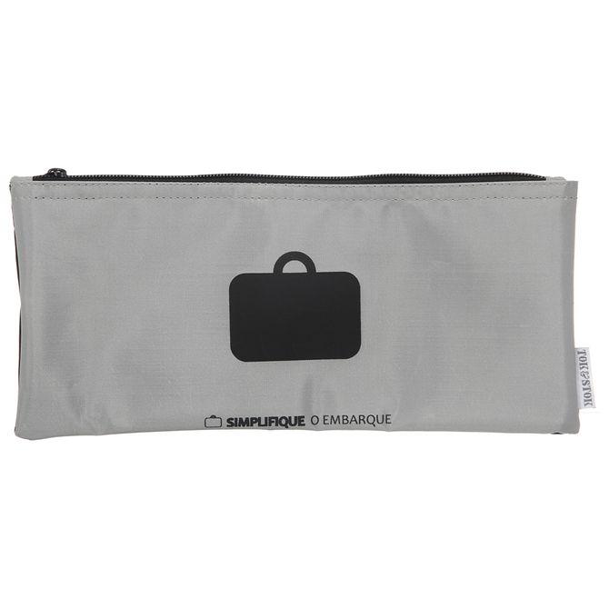 O-Embarque-Porta-documento-Cinza-preto-Simplifique