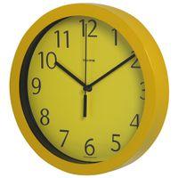 Relogio-Parede-24-Cm-Amarelo-Ticking